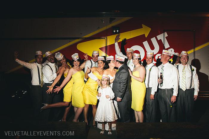 Camarillo Airport WWII Aviation Museum Wedding Photos: Lauren & Kyle