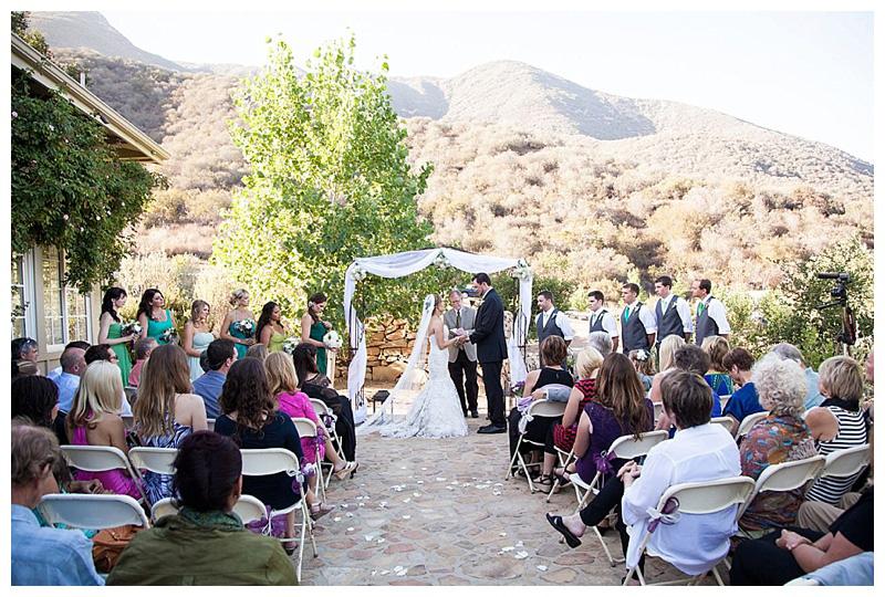 Ojai Weddings Charlotte and Dan Ojai Ranch