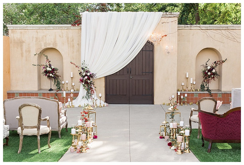 Romantic Valentine's Day Inspired Wedding – The Gardens at Los Robles Greens